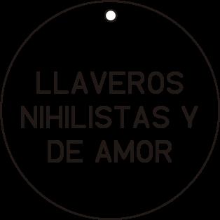 Llaveros Nihilistas y de Amor - Diminuto Cielo