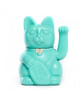 Lucky Cat Aquamarine blue Diminuto Cielo