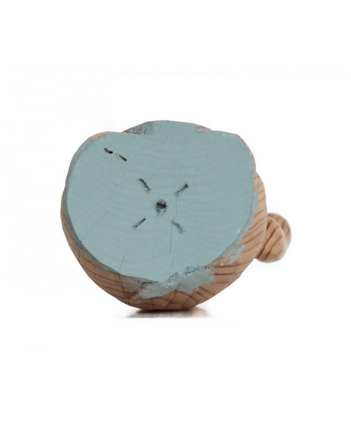 Gatete de la Suerte de Madera Duck Egg Blue