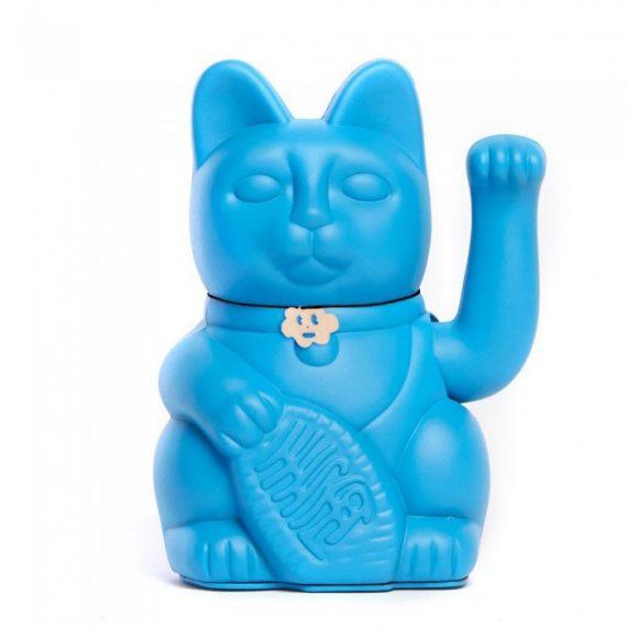 Gatete de la Suerte Diminuto Cielo Azul Pitufo