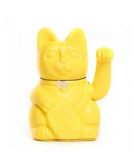 Gatete de la Suerte Diminuto Cielo Amarillo Limón