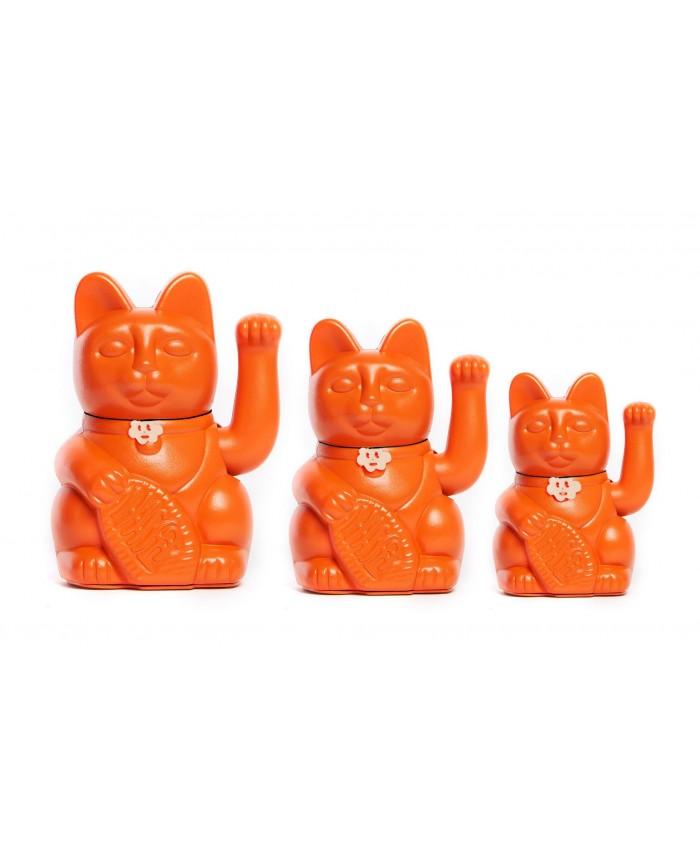 Gatete de la Suerte Diminuto Cielo Naranja