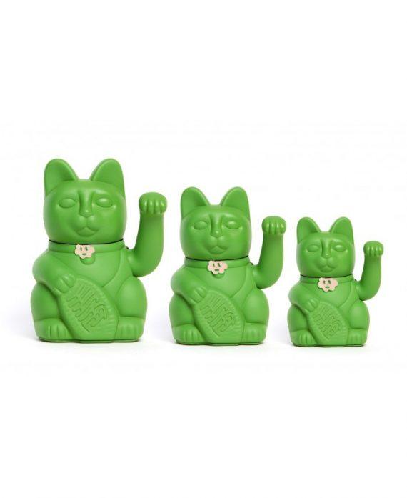 Gatete de la Suerte Diminuto Cielo Verde Hulk