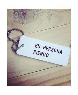 EN PERSONA PIERDO (I'M MUCH WORSE UPCLOSE)