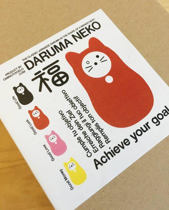 Daruma Neko detalle cubierta