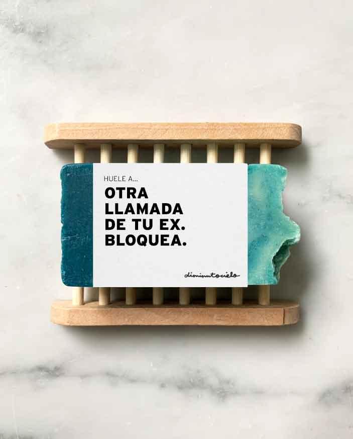 jabón artesanal personalizado