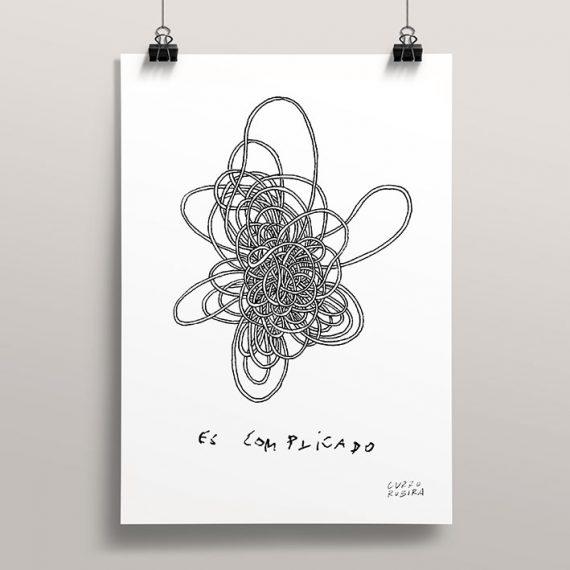 Dibujo impreso en A5 y A4